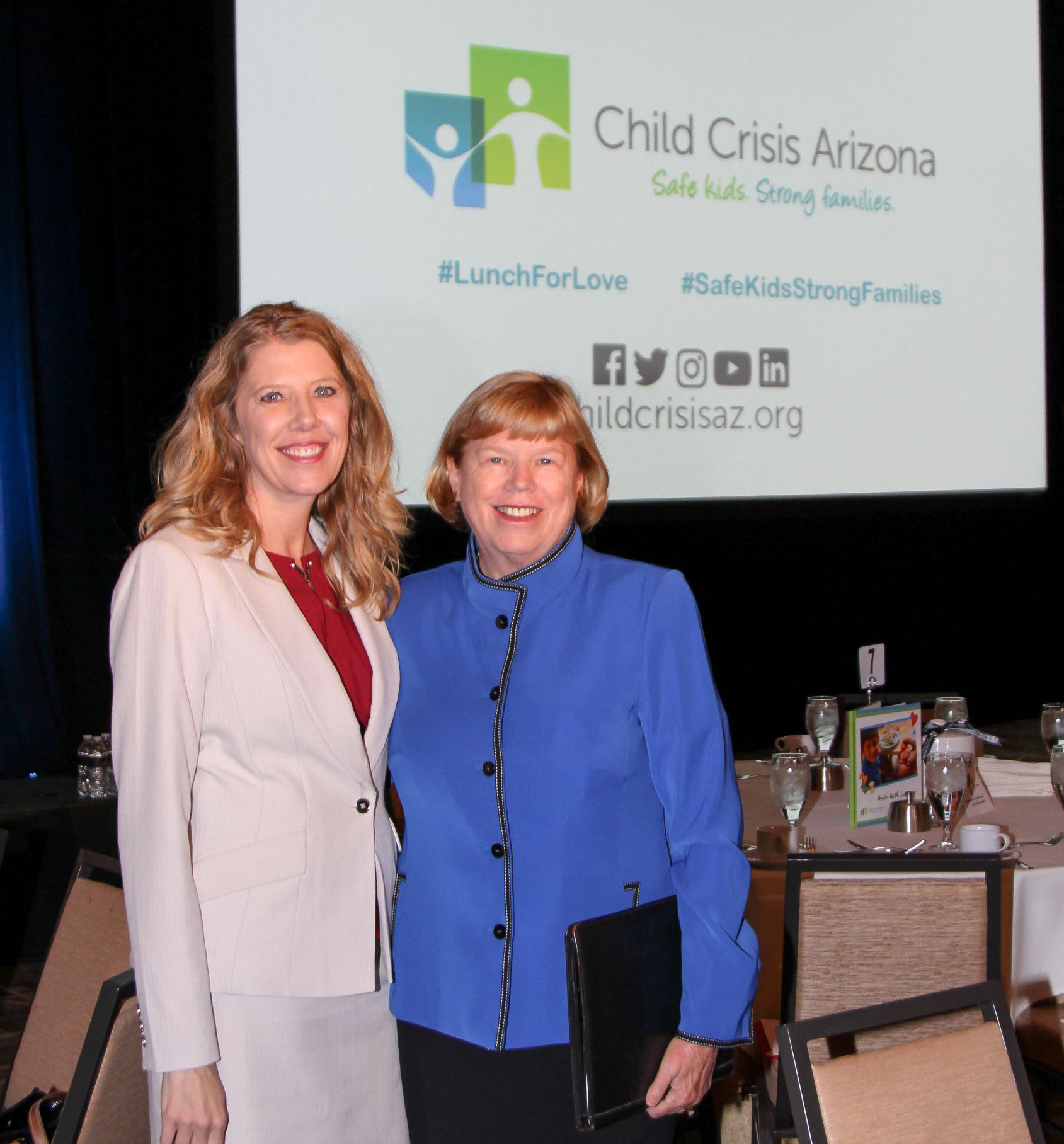 Child Crisis Arizona's Lunch for Love Raises $500,000 for Prevention, Intervention & Education Programs