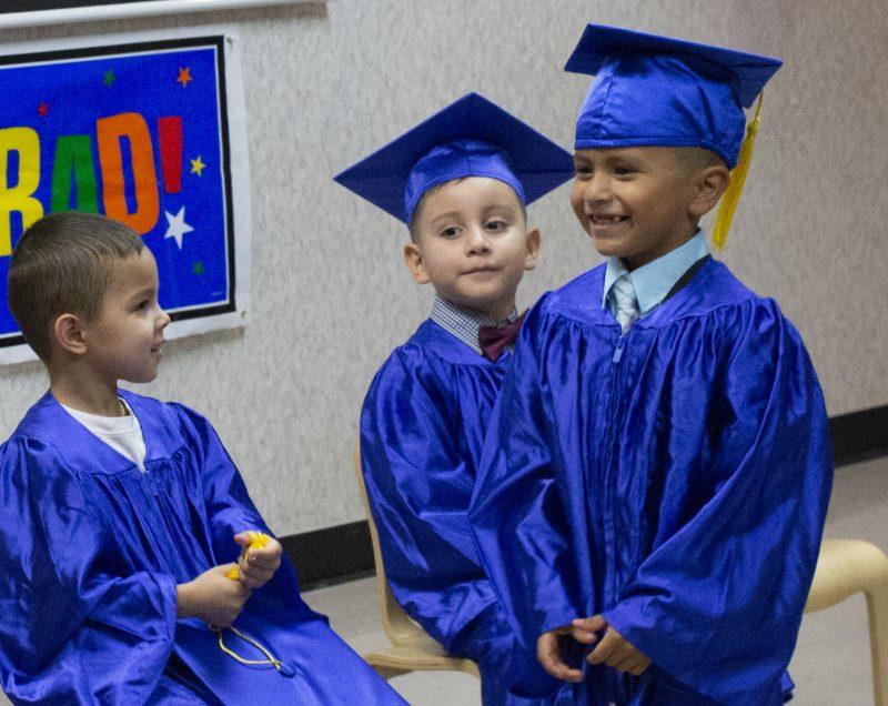 Preschoolers Shine with Pride at Graduation Ceremony