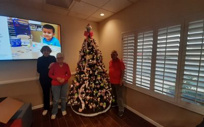 Designer Christmas Tree donated to Child Crisis Arizona