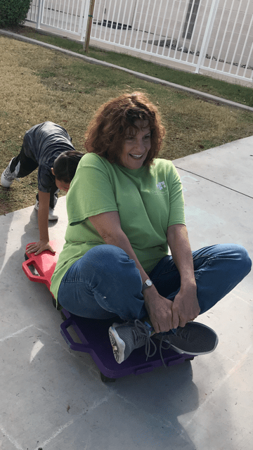 Volunteer spotlight: Gail Shapiro