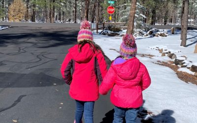 Adoptive family pays it forward during holidays
