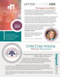 Fall 2017 Newsletter - Child Crisis Arizona