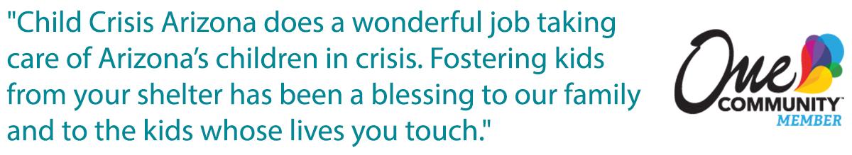 Foster Care Testimonial