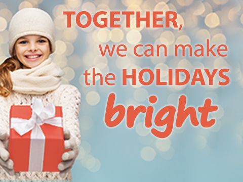 Together, we can make the holidays bright - Child Crisis Arizona